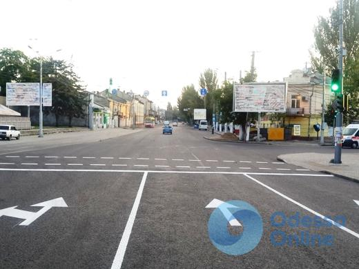 Более 3600 квадратных метров дорожной разметки нанесли на улицы Одессы