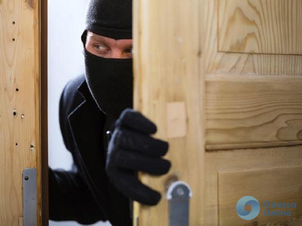 Под Одессой поймали квартирного вора