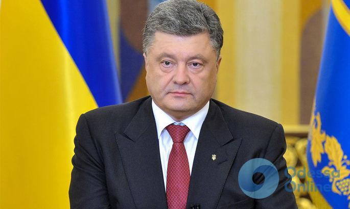 «Реакция будет мгновенной»: Порошенко осудил антисемитские высказывания на акции в Одессе
