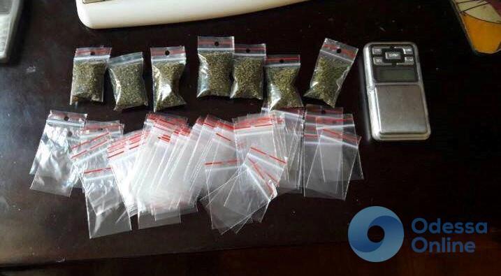 В Одессе поймали наркоторговца
