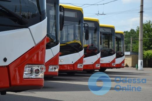 В Одессу прибыли шесть новых троллейбусов