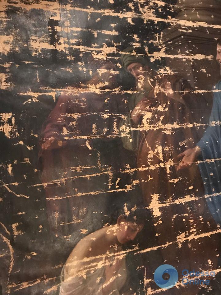 В Одесском художественном музее отреставрируют картину польского живописца Людвига Веселовского