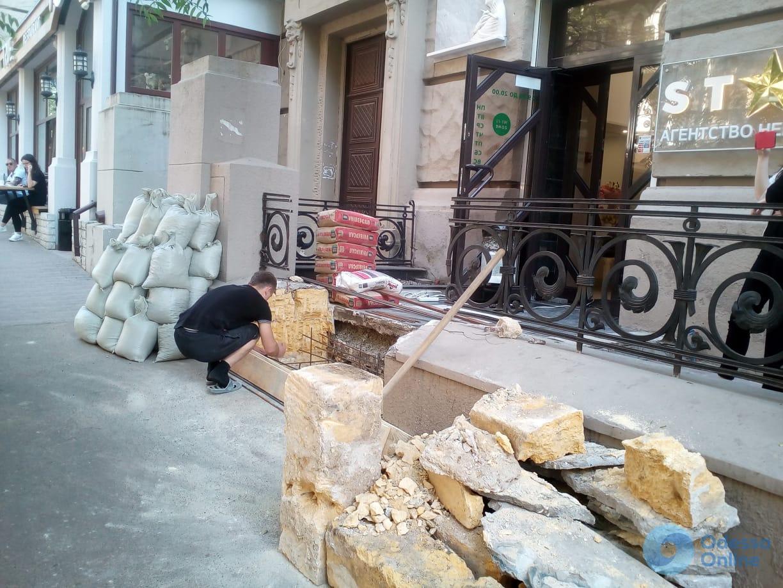 В Одессе произошел конфликт из-за пандуса в доме-памятнике архитектуры