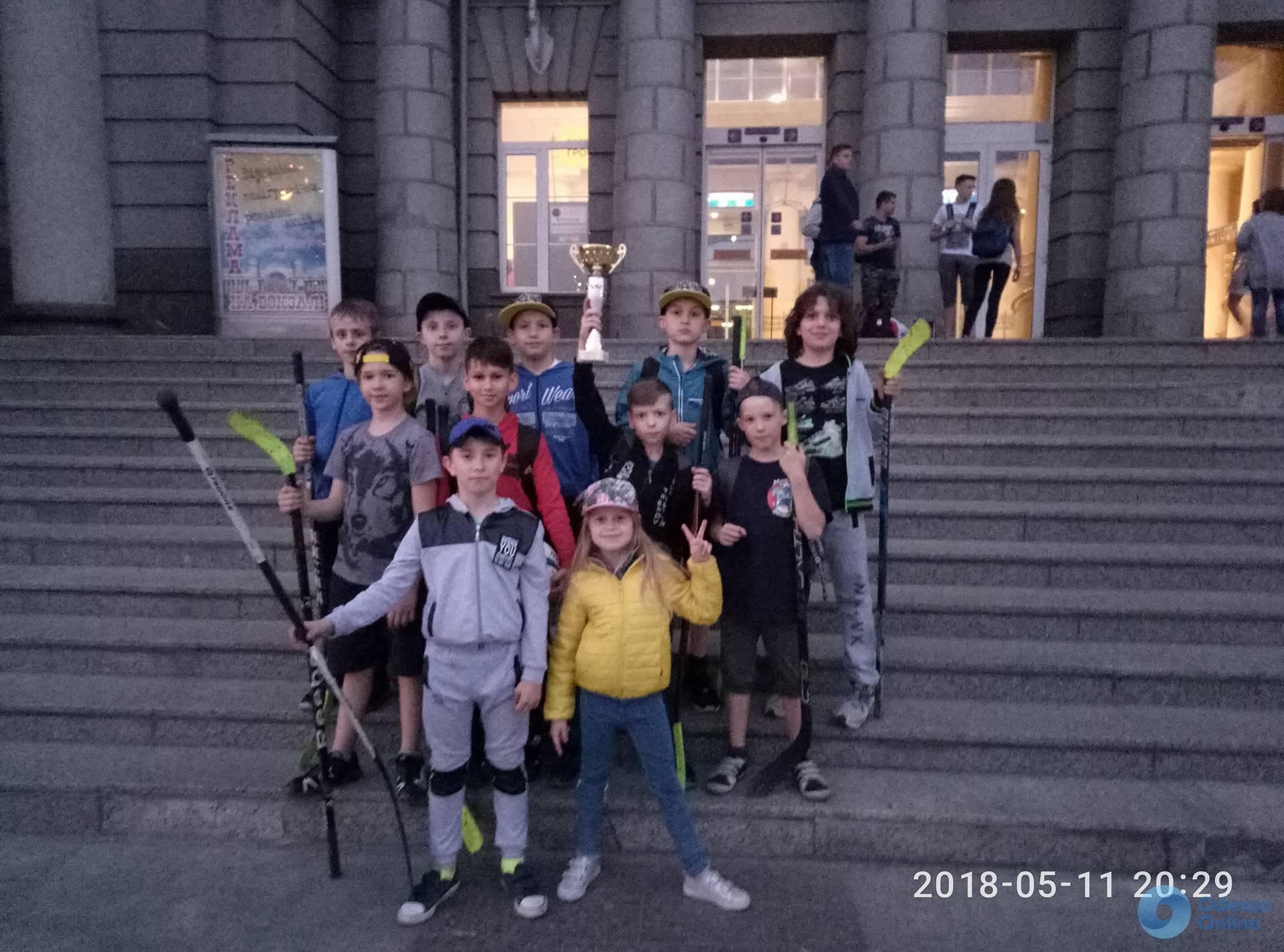 Одесский хоккейный клуб вышел в плей-офф крупного всеукраинского детского турнира