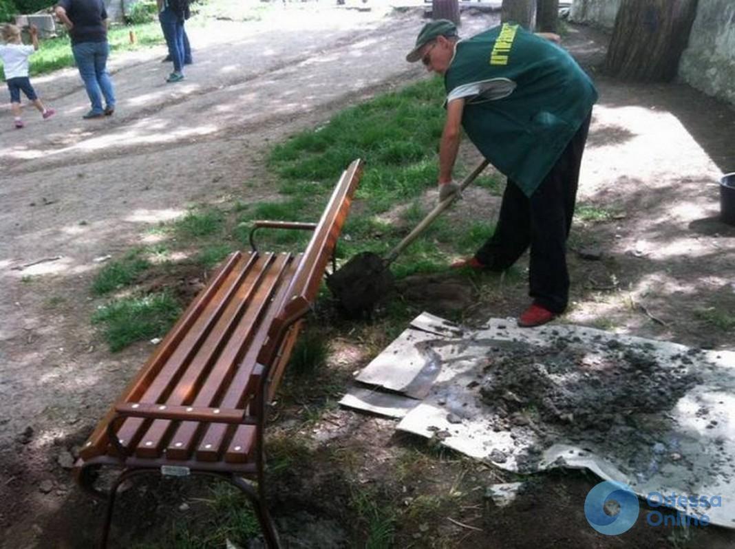 В Одессе парк Шевченко прихорашивается к лету