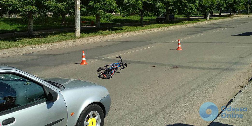 Одесса: водитель отправил велосипедиста в больницу