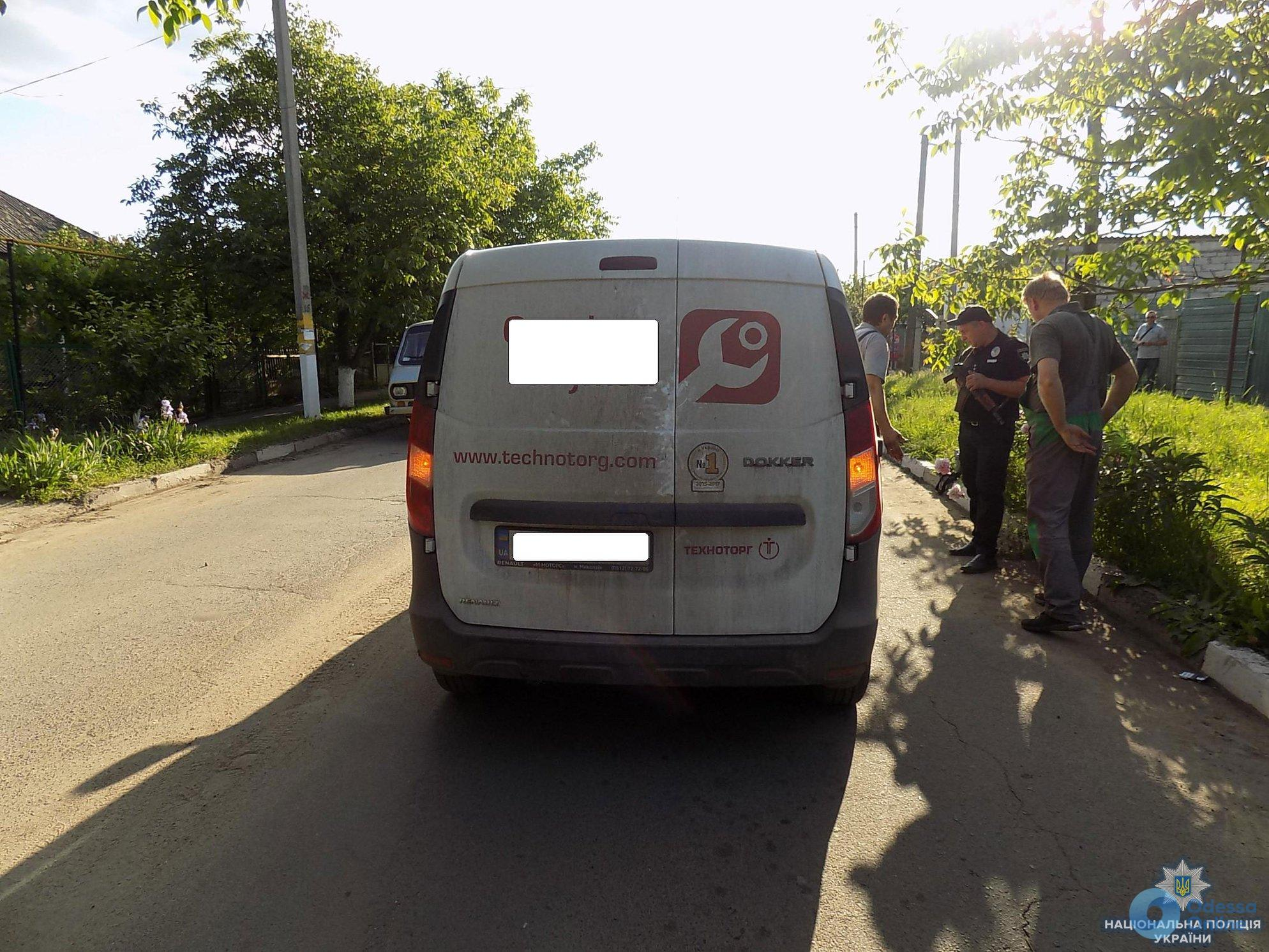 В Подольске 6-летняя девочка попала под колеса микроавтобуса