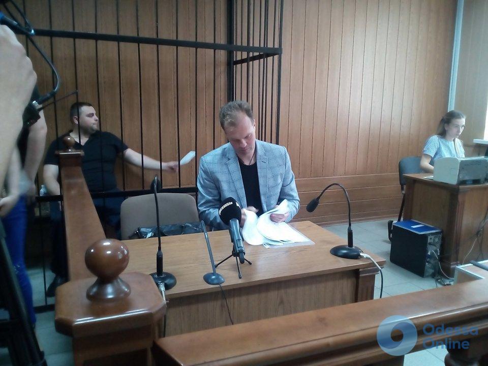 Одесский суд взял под стражу пойманного на взятке полицейского