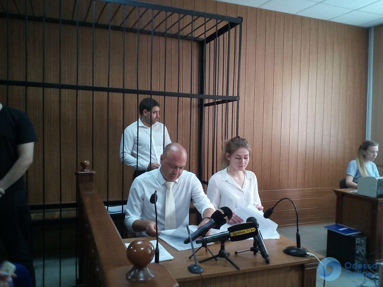 Одесский суд отправил начальника Шевченковского отделения полиции в СИЗО