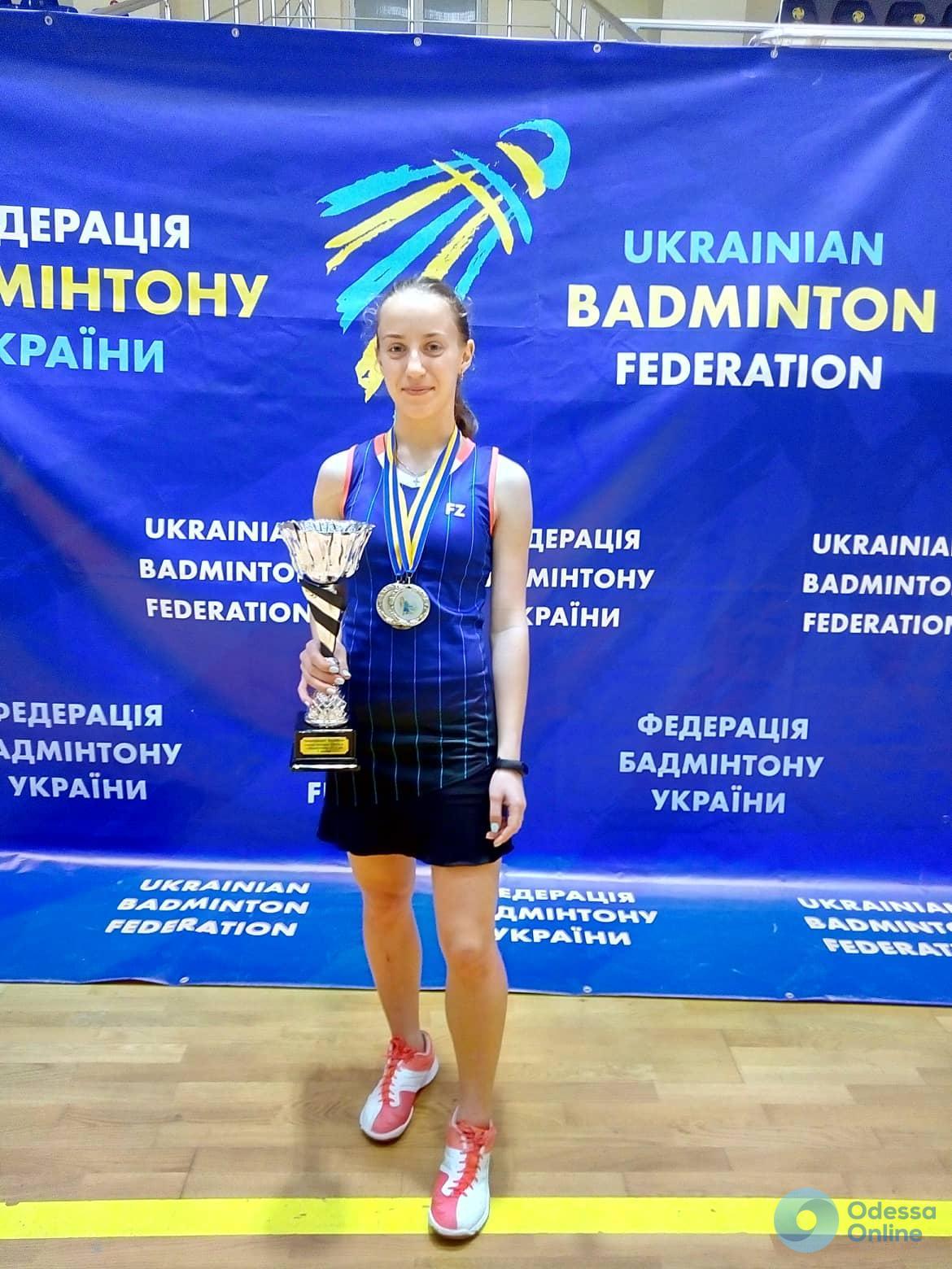 Одесские юниоры успешно выступили на чемпионате Украины по бадминтону