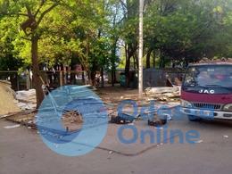 В Одессе снесли пять МАФов