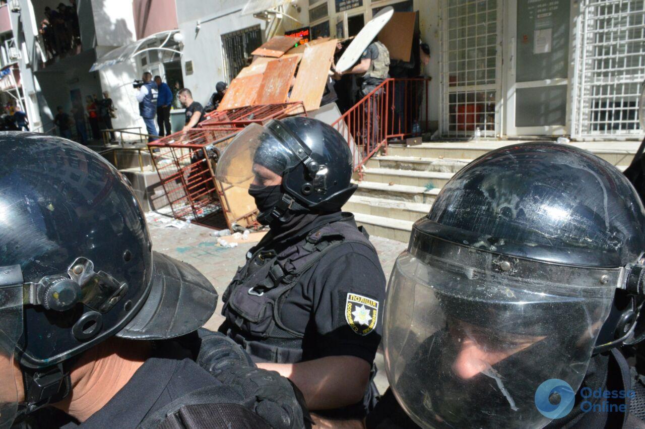 Конфликт на Фонтане: полиция задержала трех человек