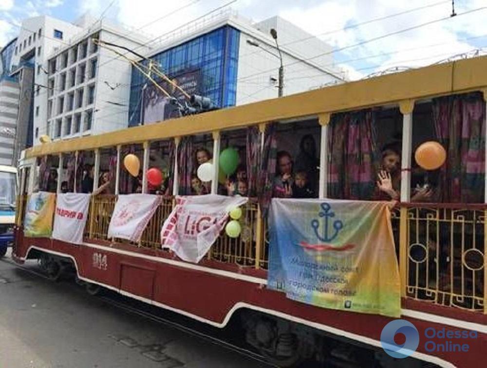В День защиты детей юных одесситов ждут блогеры, бесплатное мороженое и «трамвай счастья»