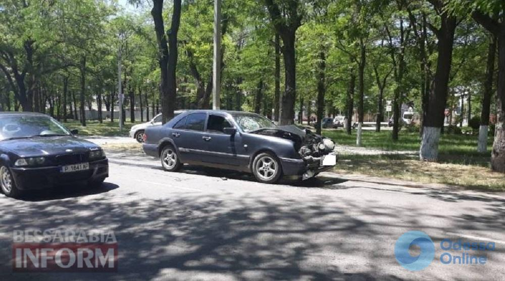 В Измаиле водитель внедорожника устроил ДТП