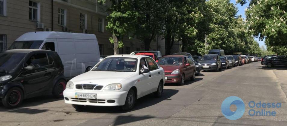 Дорожная обстановка в Одессе: пробки и ДТП на Люстдорфской дороге