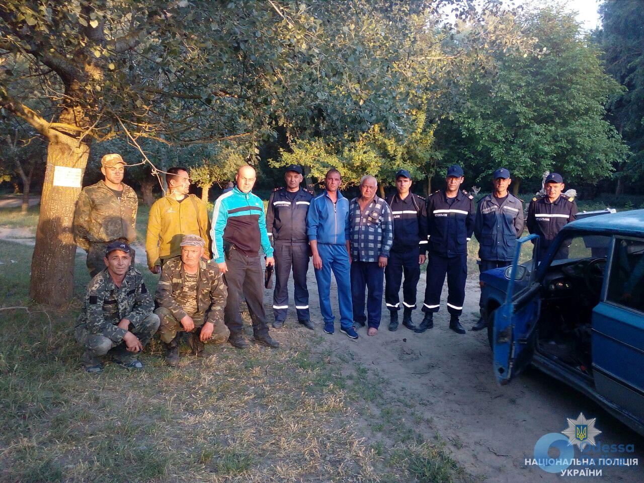 В Одесской области разыскали заблудившегося рыбака