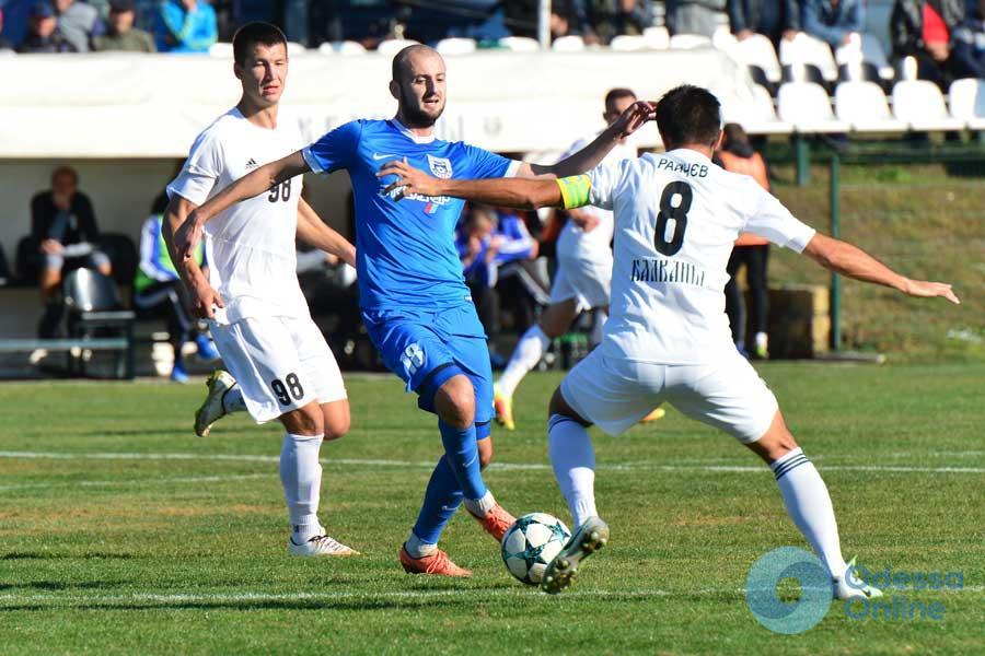 Футбольный клуб из Одесской области продлил свою беспроигрышную серию в чемпионате Украины