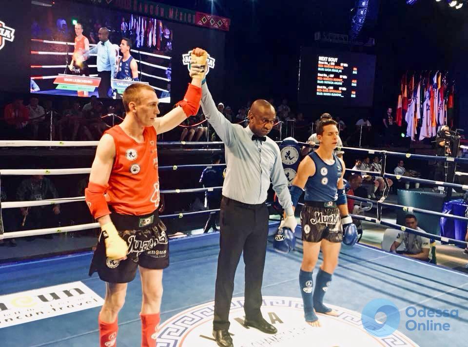 Одесситы завоевали три медали чемпионата мира по таиландскому боксу
