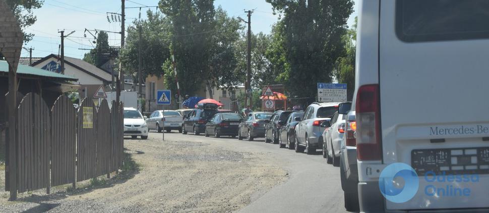 Одесские пробки: свободный поселок Котовского и стоящий центр