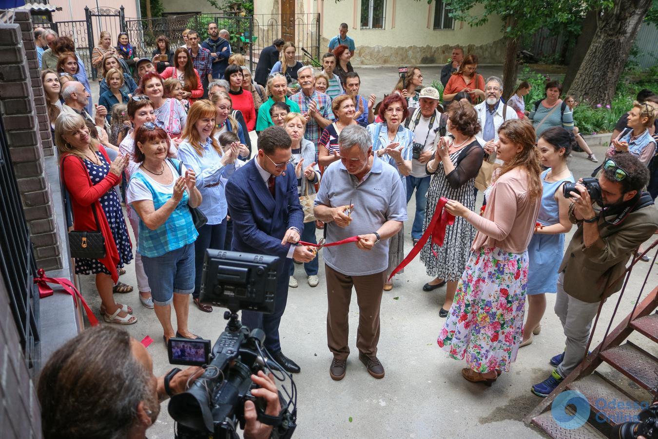 Одесский музей имени Блещунова получил квартиру (фоторепортаж)