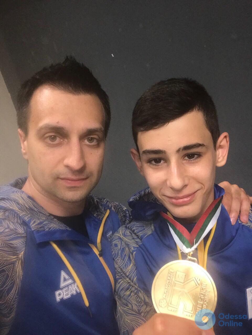 Одесситы завоевали четыре медали престижнейшего международного турнира по каратэ