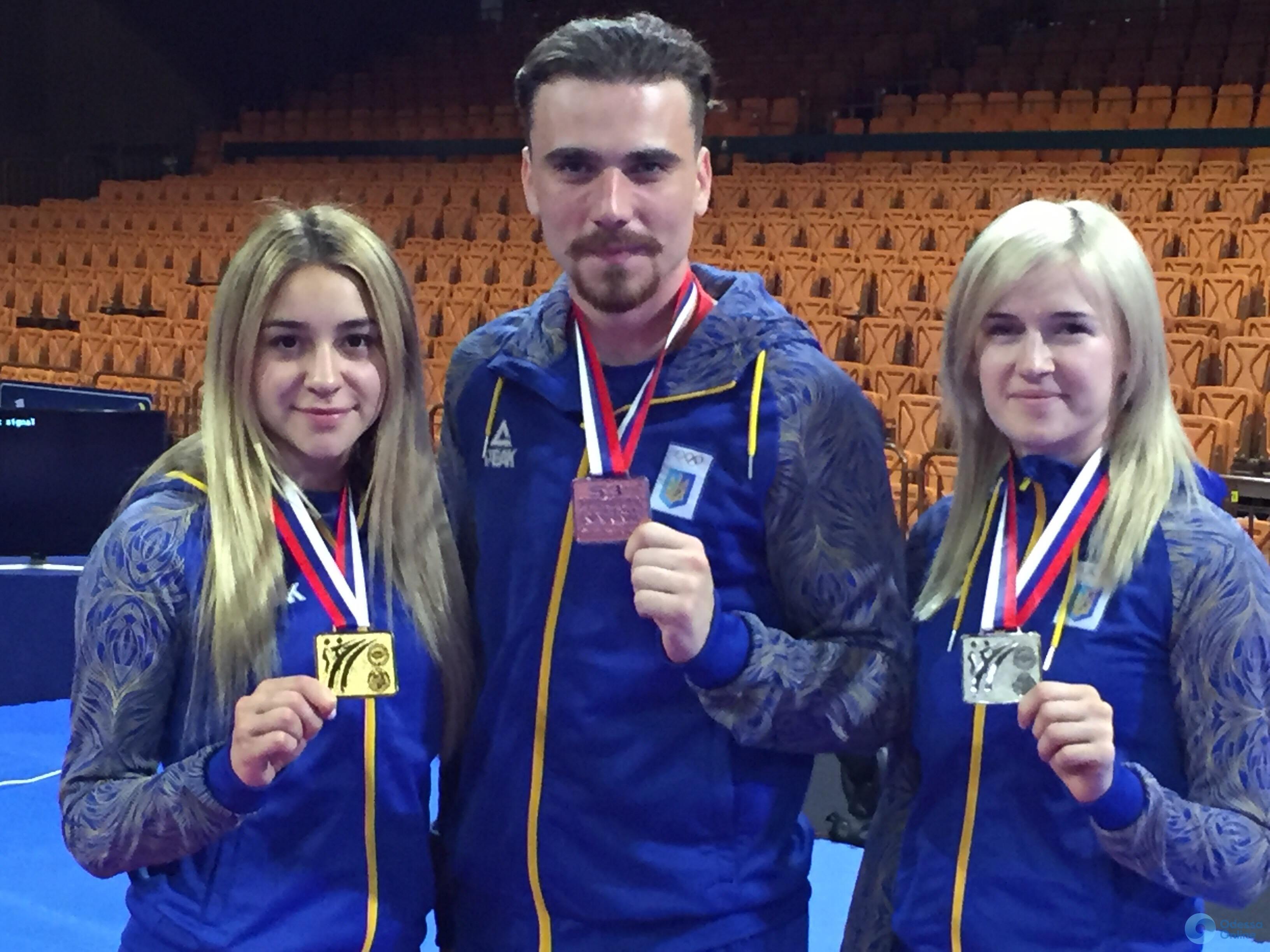 Представители Одесской области завоевали полный комплект медалей чемпионата Европы по каратэ