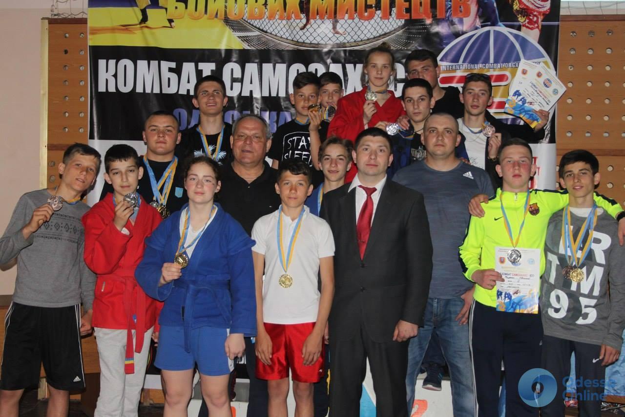 В Измаильском районе прошел Открытый чемпионат Одесской области по комбат самозащите ICO