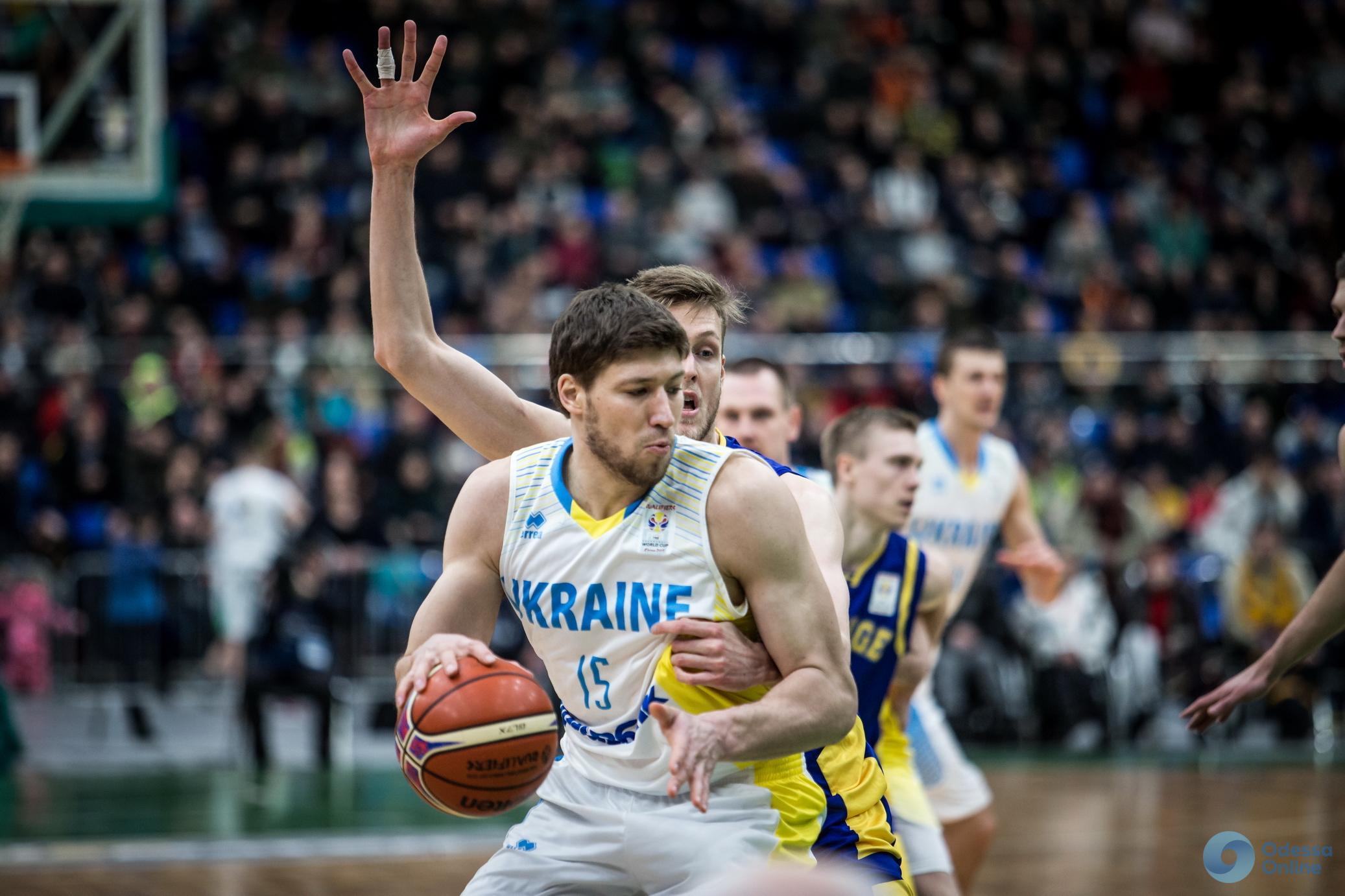 Пятеро представителей Одесской области вызваны в сборную Украины по баскетболу