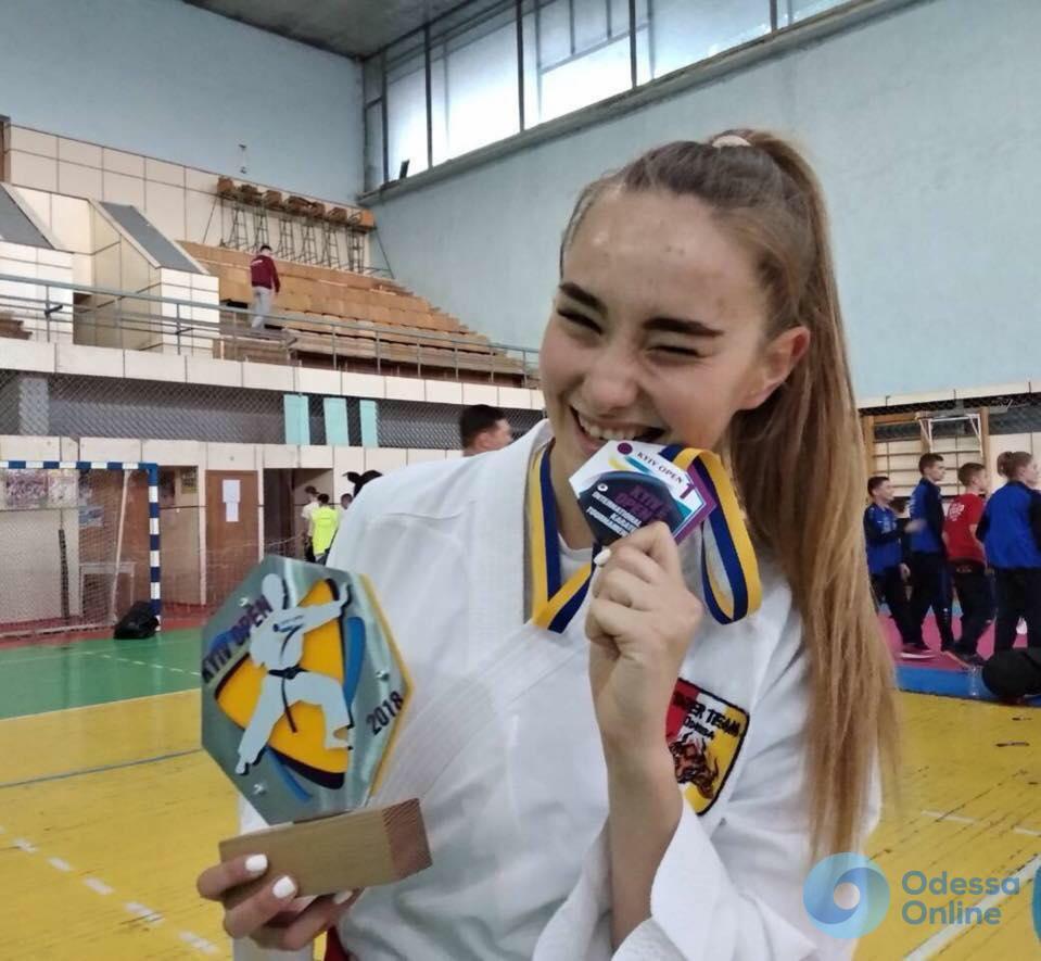 Одесситы триумфально выступили на Кубке Украины по каратэ