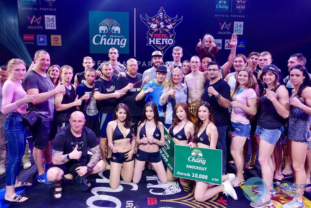 Три нокаута: одесский боец выиграл международный турнир по таиландскому боксу