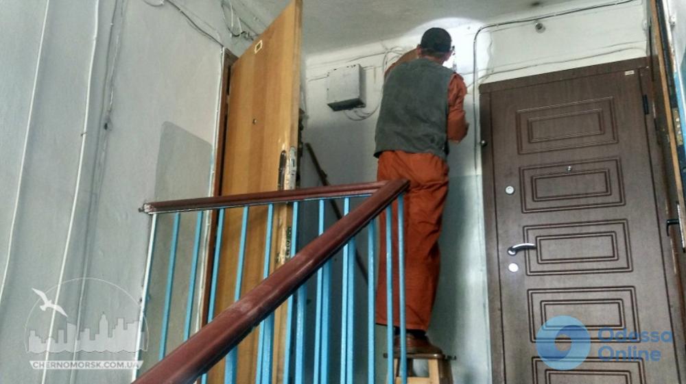 В Черноморске горела квартира в жилом доме
