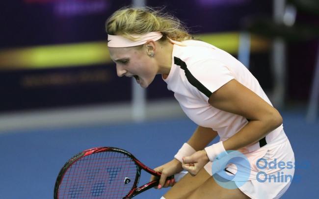 Юная одесская теннисистка – в финале турнира серии ITF во Франции