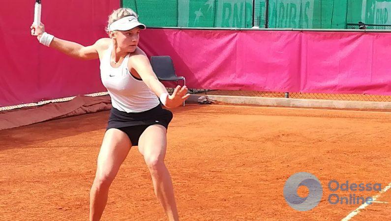 Одесская теннисистка не сыграет в финале турнира с призовым фондом 100 000 долларов