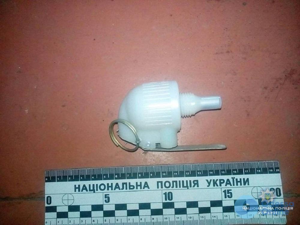 У жителя Одесской области дома нашли боевую гранату