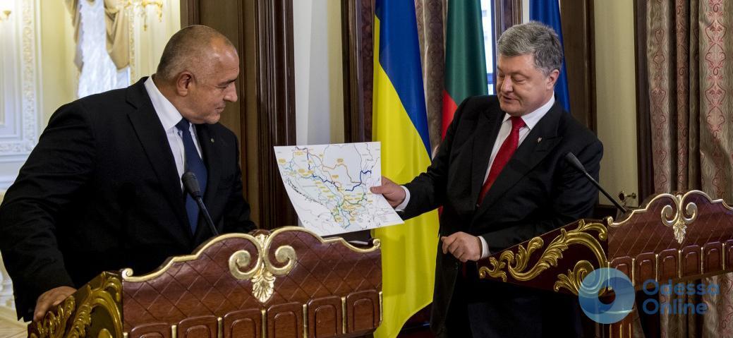 Порошенко пообещал дорогу Одесса – Варна
