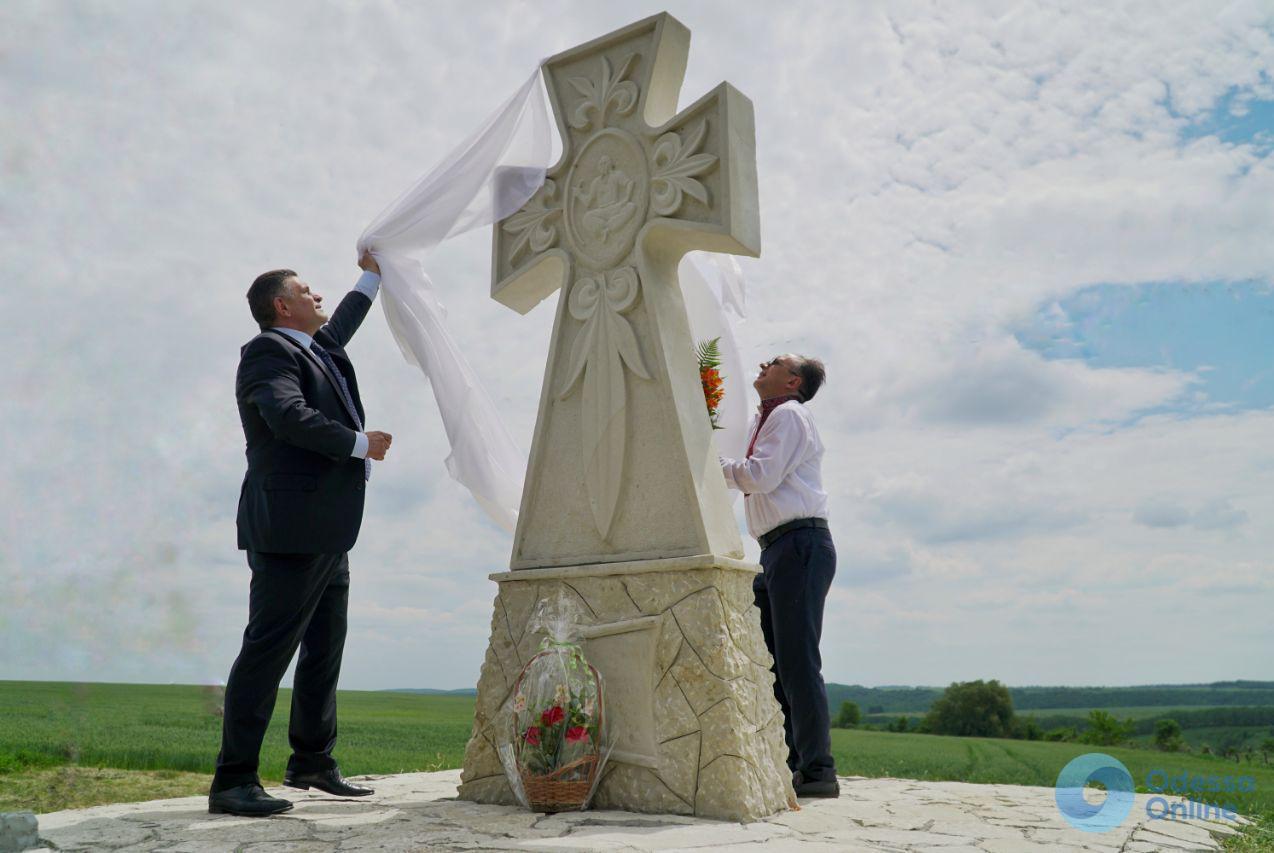 В Одесской области установили казацкий крест