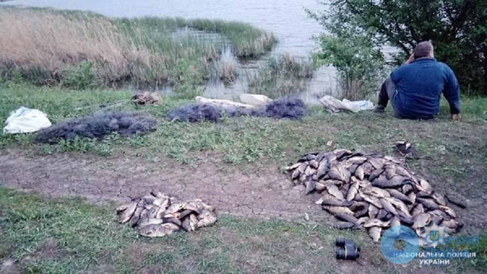 В Одесской области поймали браконьеров с солидным уловом