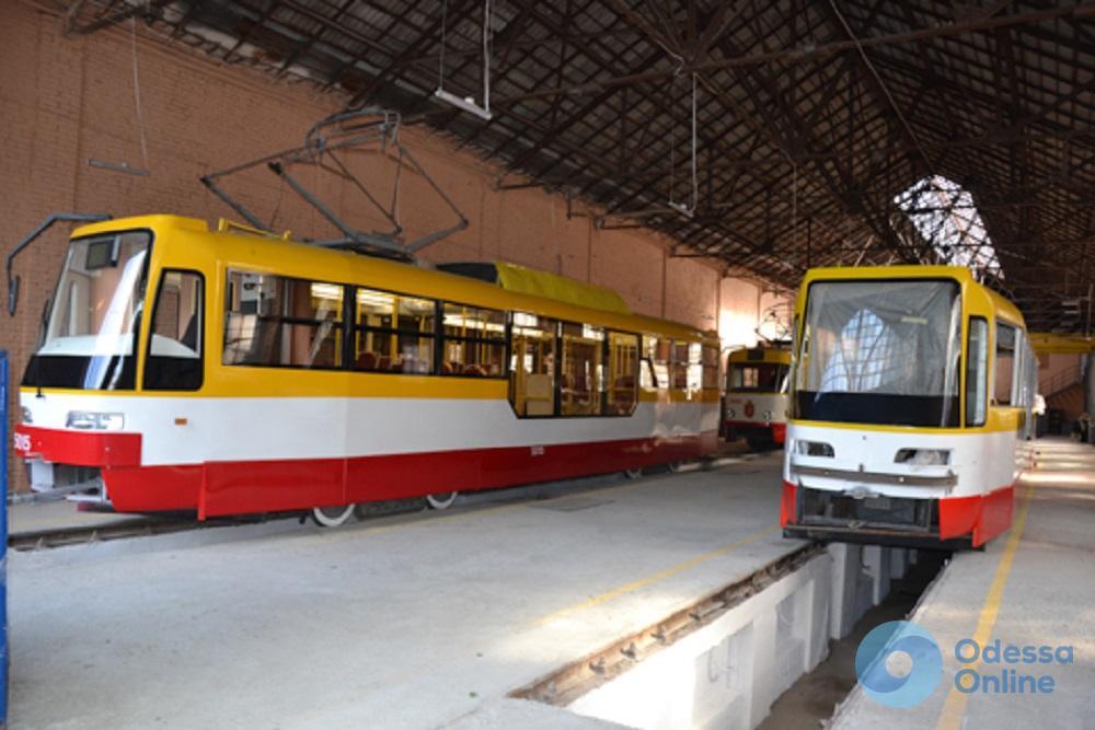 Одесса прикупит еще шесть кузовов для сборки низкопольных трамваев
