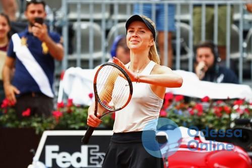 Элина Свитолина — в финале престижного теннисного турнира в Риме