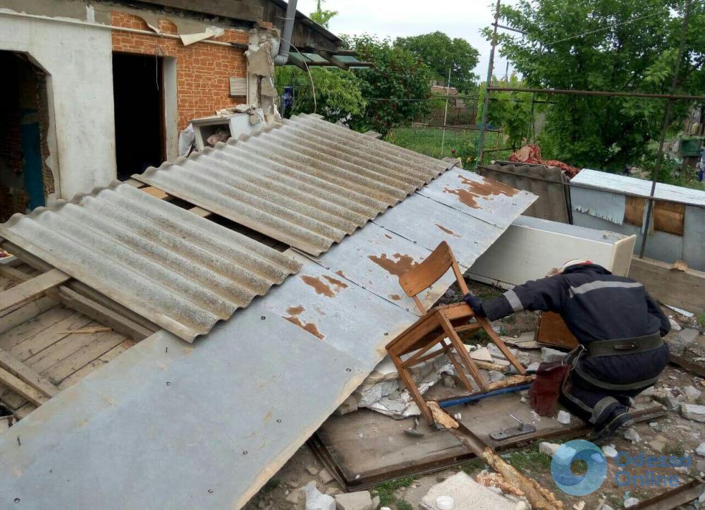Под Черноморском произошел взрыв в частном доме