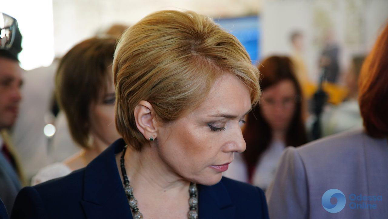 Одесса: министр образования посетила выставку школьного оборудования