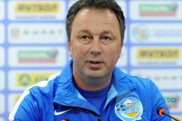 Официально: одесский «Черноморец» будет тренировать Ангел из Болгарии