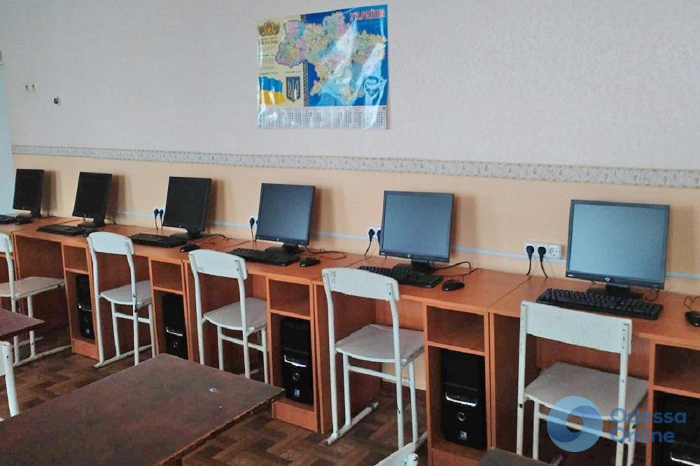 В Одессе во время ремонта обокрали школу