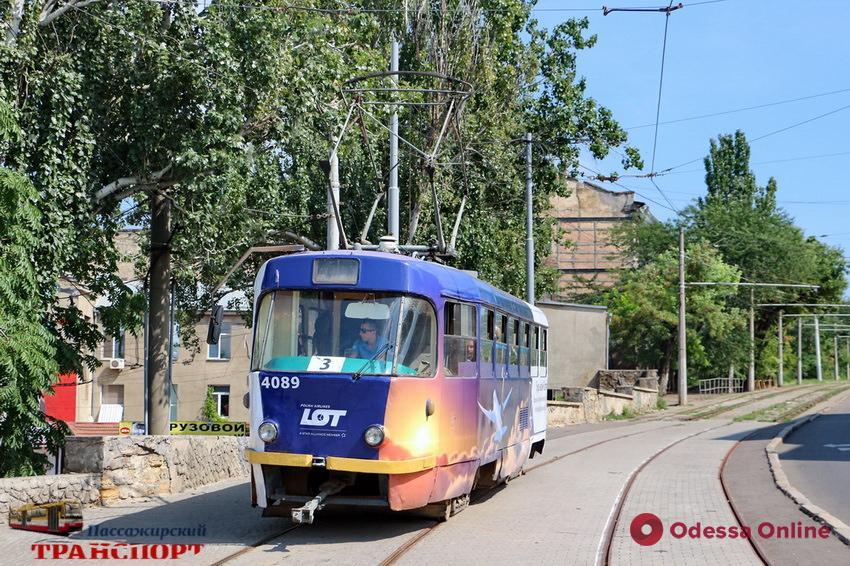 Одесса: по Преображенской и Софиевской снова запустили трамваи (фото)