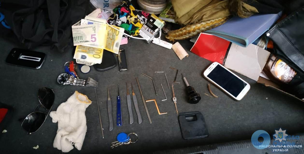 В Одессе поймали квартирного вора
