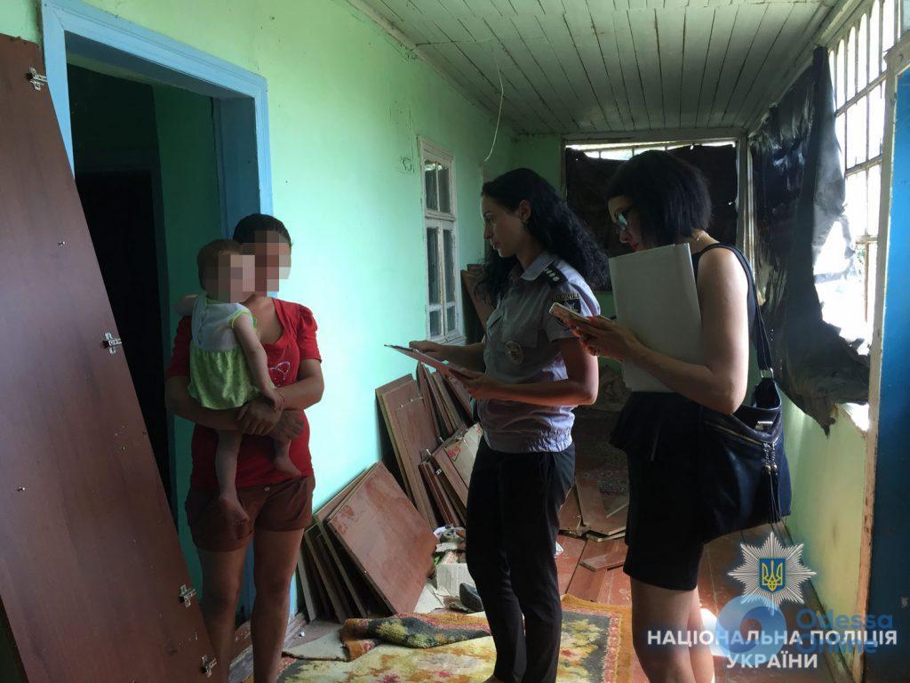 В Одесской области провели рейд по неблагополучным семьям