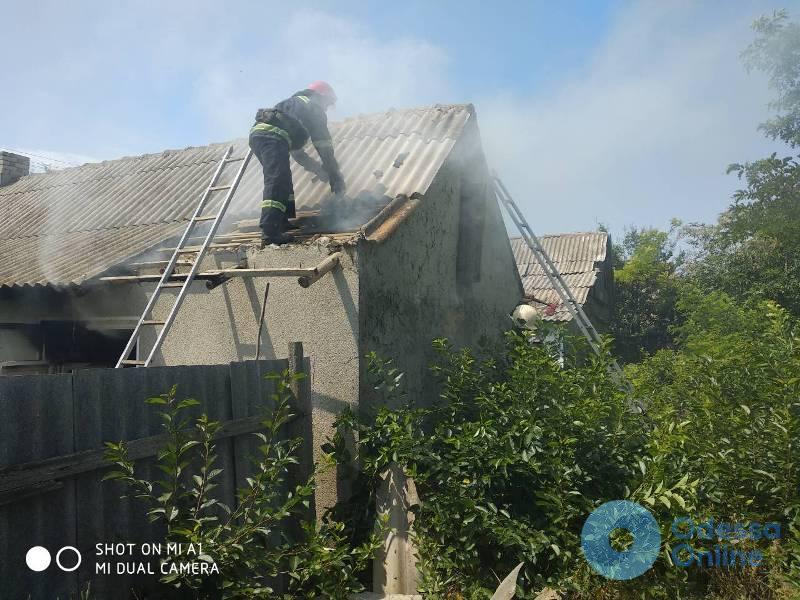 В одном из сел Одесской области при пожаре погиб мужчина