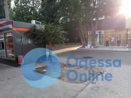 В Одессе снесли пять незаконных МАФов