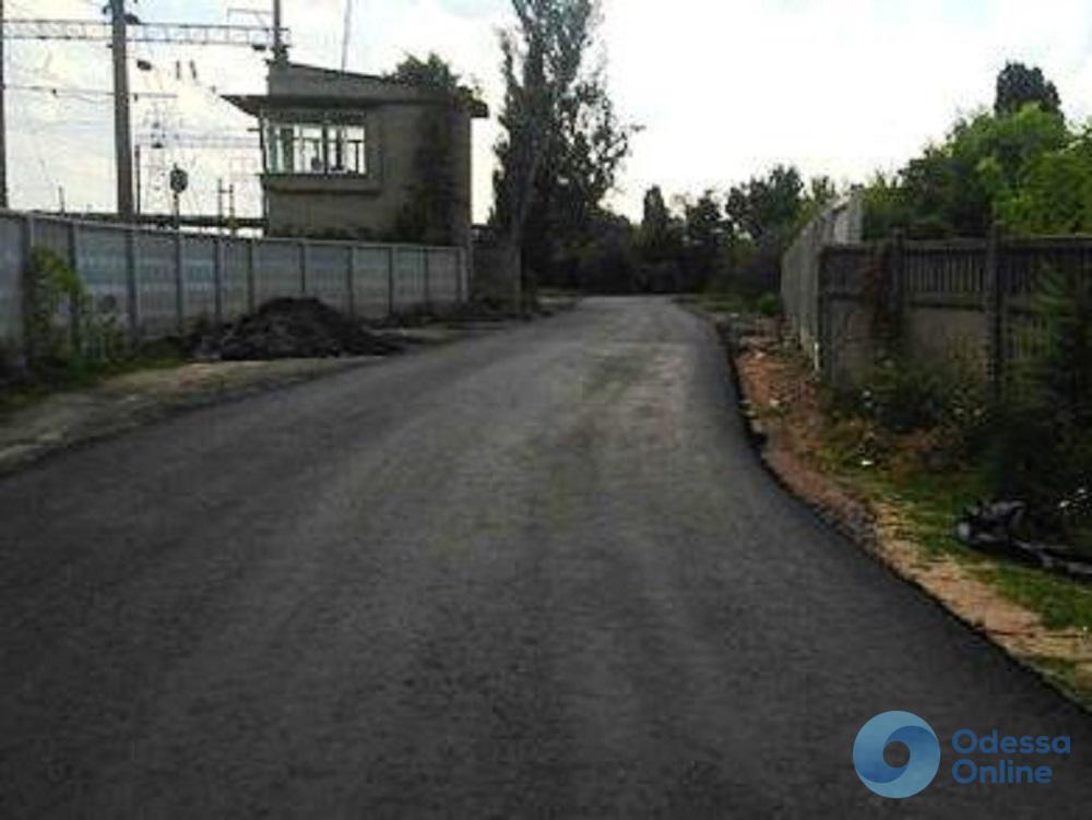На окраине Одессы капитально ремонтируют две улицы