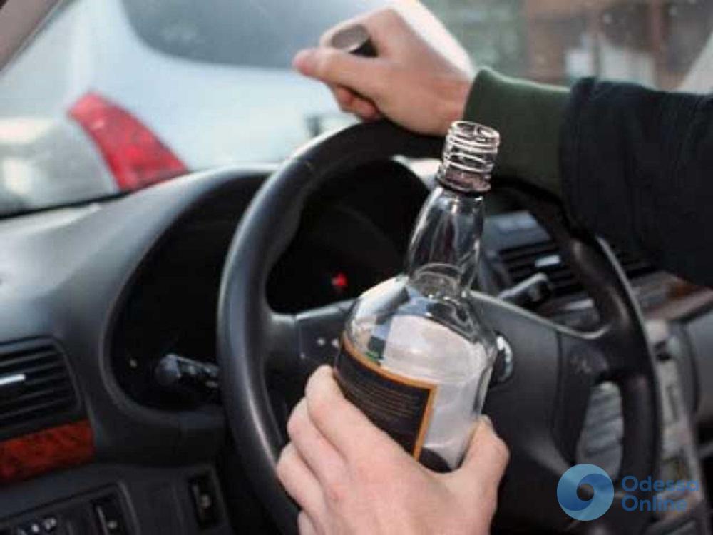 Пьяный за рулем: в Одесской области водителя лишили прав на десять лет